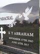 Profile photo:  Kochuparackal T. Abraham