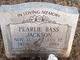 Pearlie Bass Jackson