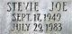 Profile photo:  Stevie Joe Howton