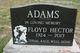Profile photo:  Floyd Hector Adams