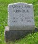 Anna <I>Sisak</I> Krinock