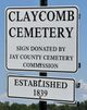 Claycomb Cemetery