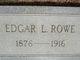 Edgar Louis Rowe
