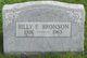 Billy F. Bronson