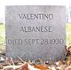 Profile photo:  Valentino Albanese