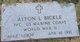 PFC Alton L. Bickle