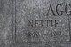 """Profile photo:  Antonette """"Nettie"""" <I>Munn</I> Aggus"""
