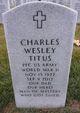 Charles Wesley Titus