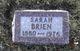 Sarah Dora <I>Morin</I> Brien