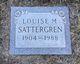 Louise Margaret <I>Picker</I> Sattergren