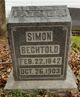 Profile photo:  Simon Bechtol