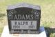 Profile photo:  Ralph E Adams