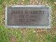 Profile photo:  James H Abbott