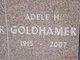 Profile photo:  Adele <I>Helper</I> Goldhamer