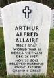 Profile photo:  Arthur Alfred Allaire
