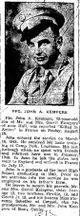 Profile photo: PFC John A. Kempers