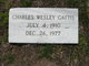 "Charles Wesley ""Shorty"" Gattis"