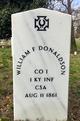 William F Donaldson