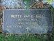 Profile photo:  Betty Jane Ball
