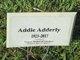 Profile photo:  Addie Adderley