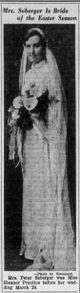 Profile photo:  Eleanor Mae <I>Prentice</I> Seberger