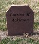 Lorrina M Ackleson