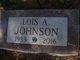 Lois Arlene <I>Forsyth</I> Johnson