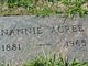 Profile photo:  Nannie <I>McClung</I> Acree