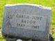 Profile photo:  Carla June Bacon