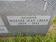 Willener Jean <I>Green</I> Jones
