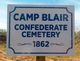 Camp Blair Confederate Cemetery