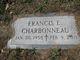 Profile photo:  Francis E Charbonneau