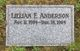 Profile photo:  Lillian Frances <I>Gargett</I> Anderson