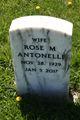 Profile photo:  Rose M <I>Miller</I> Antonelli
