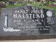 Janet Joyce Halstead