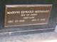 "Profile photo:  Marvin Edward ""Marv"" Meinhart"