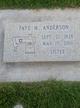 Faye Margaret Anderson