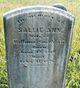 Sallie Ann Smithson