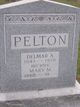 Mary Maria <I>Johnson</I> Pelton