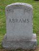"""Profile photo:  Fredrich """"Fred"""" Abrams"""