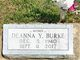 Profile photo:  Deanna Y <I>Miller</I> Burke