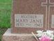 Profile photo:  Mary Jane <I>Whitfield</I> Durbin
