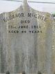 Eleanor <I>Mossop</I> McGhie