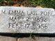 Mary Emma <I>Lail</I> Pope