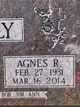 Agnes <I>strudl</I> McNally
