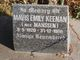 Mavis Emily <I>Manssen</I> Keenan