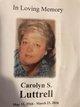 Carolyn <I>Sellers</I> Luttrell