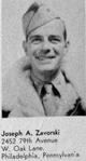 1Lt Joseph A. Zavorski, Jr