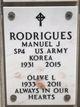 "Profile photo:  Manuel Jose ""Manny"" Rodrigues"