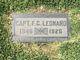 CPT F. G. Leonard